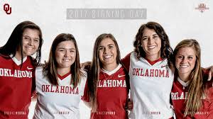 Oklahoma Travel Assistant images Five join ou softball in 2018 recruiting class the official site jpg