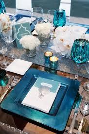 mariage bleu et blanc idées mariage turquoise blanc carnet d inspiration 1 melle
