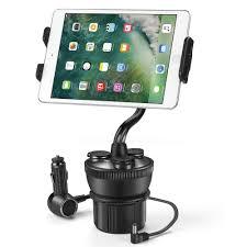 smartphone car mount holder charger station universal cup holder