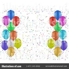 party balloons clipart 1115150 illustration by kj pargeter