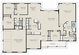 3 Bedroom Ranch Floor Plans 4 Bedroom Ranch Floor Plans Beautiful Ranch House Plans With Four