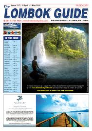 the lombok guide issue 217 by the lombok guide issuu
