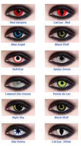 find cheap special effects halloween and theatrical contact lenses