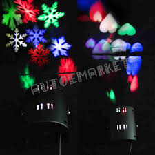 Christmas Lights Projector by Indoor Moving Snowflake Led Decor Light Projector Landscape Xmas