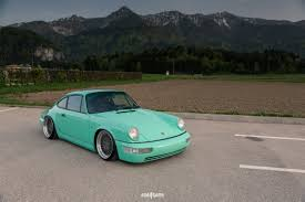 rotiform porsche 964 fresh mint porsche 911 carrera with air suspension and rotiform