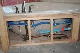 Installing A Bathtub Faucet Bathroom