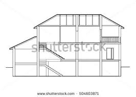 house cross section stock images royalty free images u0026 vectors