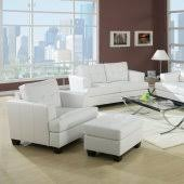 White Leather Living Room Furniture Leather Living Room Sets