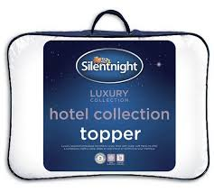 Silent Night Duvet Buy Silentnight Luxury Hotel Collection Mattress Topper Double