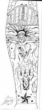 8 best religious tattoo sleeve sketches for men images on