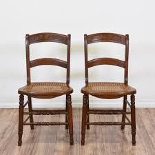 Solid Wood Dining Chairs These Cane Seat Dining Chairs Are Featured In A Solid Wood With A