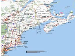Map Of North Eastern Usa by Map Of Prince Edward Island And Surrounding Areas And Map Of Area