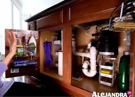 how to organize the sink cabinet how to organize the kitchen sink cabinet