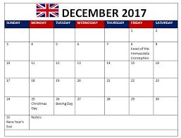 december calendar 2017 with holidays calendar 2017 with holidays
