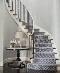 stair case a bad fiber for a stair runner a difficult staircase laurel home