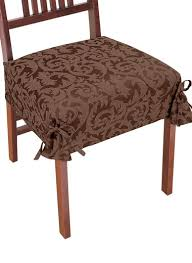 brown chair covers damask chair covers carolwrightgifts