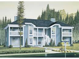 Multi Family Home Floor Plans Harborview Two Story Fourplex Plan 008d 0034 House Plans And More