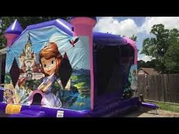 moonwalks in houston sofia the houston tx moonwalk slide sky high party