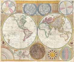 Earth Globe Map World by Map Of World In 1794 Vintage Maps Pinterest Cartography