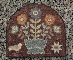 Wool Hand Hooked Rugs 1318 Best 2 Hooked Rugs Underfoot Images On Pinterest Punch