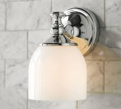 Pottery Barn Bathroom Lighting Mercer Single Sconce Pottery Barn A Pair Of These On Either
