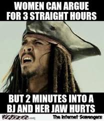 Funny Meme - women can argue for 3 straight hours funny adult meme pmslweb