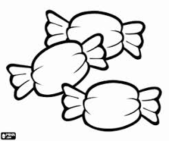 sweets candies coloring pages printable games