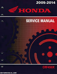 2005 2015 crf450x service manual by repairmanual ebay
