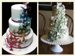 butterfly wedding cake butterfly wedding cakes http www cake decorating corner