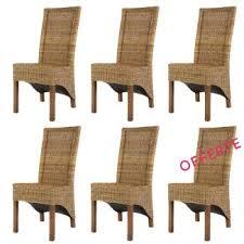 chaises en osier chaises de salle à manger en osier chaises de salle à manger en