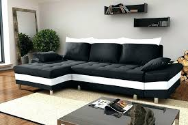 Canape Angle Convertible Noir Canapac Dangle Convertible Noir Canape Convertible Noir Et Blanc Canapa Sofa Divan Pegase Canapac