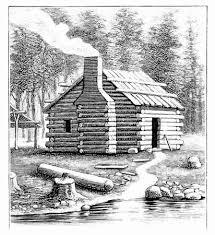 log cabin drawings the history reader a history blog from st martins press
