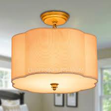 Brass Ceiling Lighting Semi Flush Ceiling Light Lightsinhome