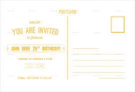 birthday postcard template u2013 17 free psd vector eps ai format