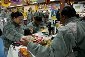 obama thanks troops before thanksgiving dinner at white