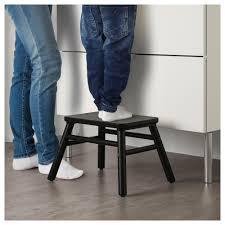 vilto step stool black ikea