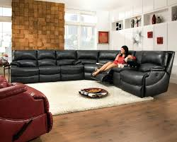 Reclining Sofa With Console by Reclining Sofa With Fold Down Console Fascinating Shazam Six Seat