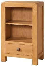 Oak Bookcases With Drawers Buy Devonshire Avon Oak Bookcase 1 Drawer Online Cfs Uk