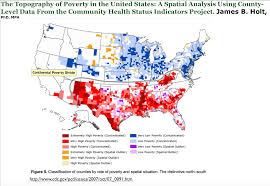 Religion Map Usa by The Changing Geography Of Poverty In The United States Geocurrents