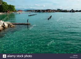 sipadan water village mabul island stock photos u0026 sipadan water