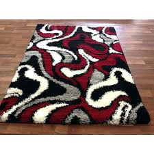 Checkered Area Rug And White Area Rug Charming And White Rugs For Black