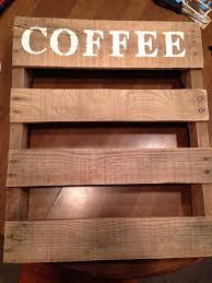 diy pallet coffee cup holder u2013 one little bird blog