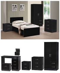 Black High Gloss Bedroom Furniture by Marina Black High Gloss Bedroom Furniture Sets Wardrobe Drawers