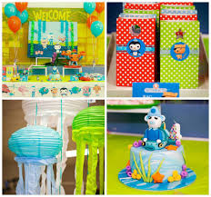kara u0027s party ideas octonauts themed birthday party