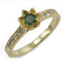 lotus engagement ring emerald eternal lotus engagement ring ardonn