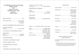 printable wedding programs free program templates europe tripsleep co