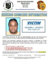 Seeking Miami Seeking Information On Monday November Miami Dade