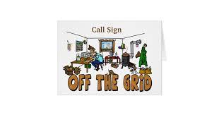 off the grid ham radio operator birthday card zazzle com