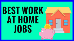 Best 25 Legit Work From Top 7 Work At Home Jobs For 2017 Youtube