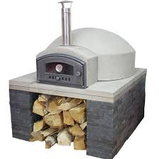 Backyard Pizza Oven Kit by Vitcas Wood Fired Bread Pizza Oven